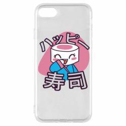 Чехол для iPhone 7 Funny sushi