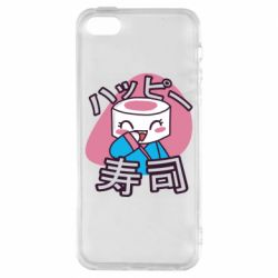 Чехол для iPhone5/5S/SE Funny sushi
