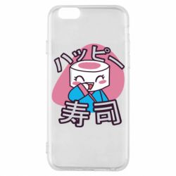 Чехол для iPhone 6/6S Funny sushi