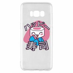 Чехол для Samsung S8 Funny sushi