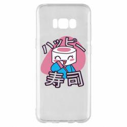 Чехол для Samsung S8+ Funny sushi