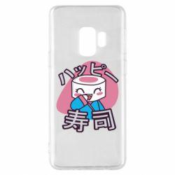 Чехол для Samsung S9 Funny sushi
