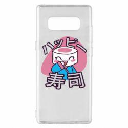 Чехол для Samsung Note 8 Funny sushi