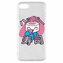 Чехол для iPhone 8 Funny sushi