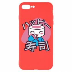 Чехол для iPhone 8 Plus Funny sushi