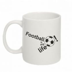 Кружка 320ml Футбол - моє життя!