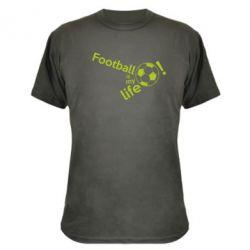 Камуфляжна футболка Футбол - моє життя!