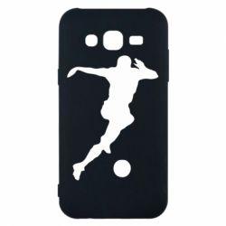 Чехол для Samsung J5 2015 Футбол