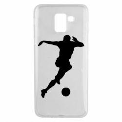 Чехол для Samsung J6 Футбол