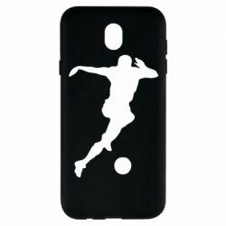 Чехол для Samsung J7 2017 Футбол