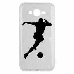 Чехол для Samsung J7 2015 Футбол