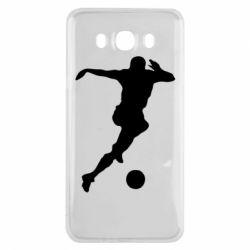 Чехол для Samsung J7 2016 Футбол