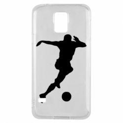Чехол для Samsung S5 Футбол