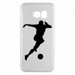 Чехол для Samsung S6 EDGE Футбол