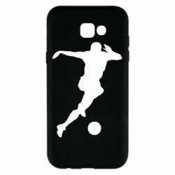 Чехол для Samsung A7 2017 Футбол
