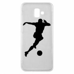 Чехол для Samsung J6 Plus 2018 Футбол