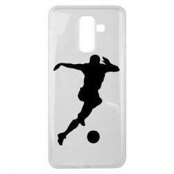 Чехол для Samsung J8 2018 Футбол