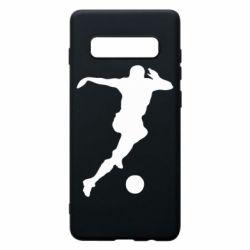 Чохол для Samsung S10+ Футбол