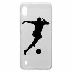 Чехол для Samsung A10 Футбол