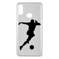 Чехол для Samsung A10s Футбол