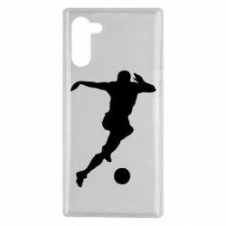 Чохол для Samsung Note 10 Футбол