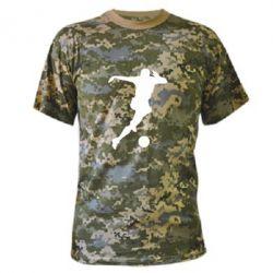 Камуфляжная футболка Футбол - FatLine