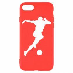 Чехол для iPhone 8 Футбол
