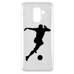 Чехол для Samsung A6+ 2018 Футбол