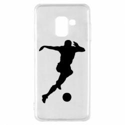 Чехол для Samsung A8 2018 Футбол