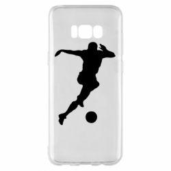 Чохол для Samsung S8+ Футбол