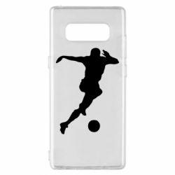 Чохол для Samsung Note 8 Футбол