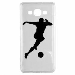 Чехол для Samsung A5 2015 Футбол