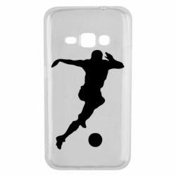 Чехол для Samsung J1 2016 Футбол