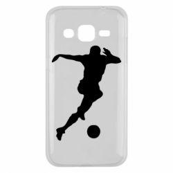Чехол для Samsung J2 2015 Футбол