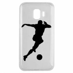 Чехол для Samsung J2 2018 Футбол