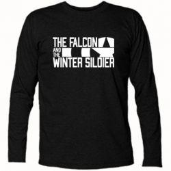 Футболка з довгим рукавом Falcon and winter soldier logo