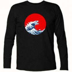 Футболка з довгим рукавом Godzilla Wave