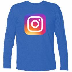 Футболка з довгим рукавом Instagram Logo Gradient