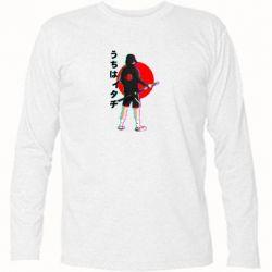 Футболка з довгим рукавом Itachi in modern clothes