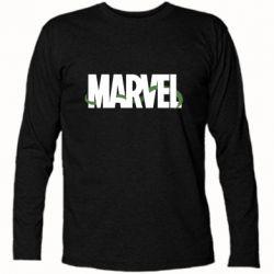 Футболка с длинным рукавом Marvel logo and vine