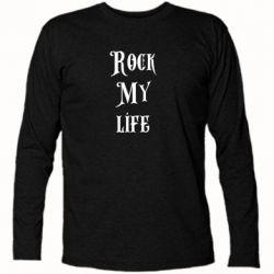 Футболка с длинным рукавом Rock my life