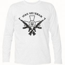 Футболка з довгим рукавом Veteran machine gun