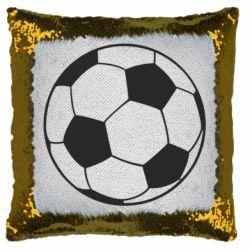 Подушка-хамелеон Футбольний м'яч