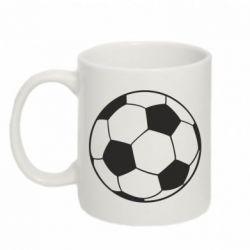Кружка 320ml Футбольный мяч - FatLine