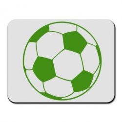 Коврик для мыши Футбольный мяч - FatLine