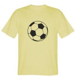 Мужская футболка Футбольный мяч - FatLine