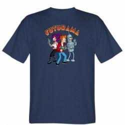 Чоловіча футболка Футурама герої