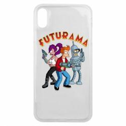Чохол для iPhone Xs Max Футурама герої