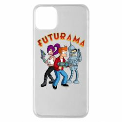 Чохол для iPhone 11 Pro Max Футурама герої