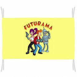 Прапор Футурама герої